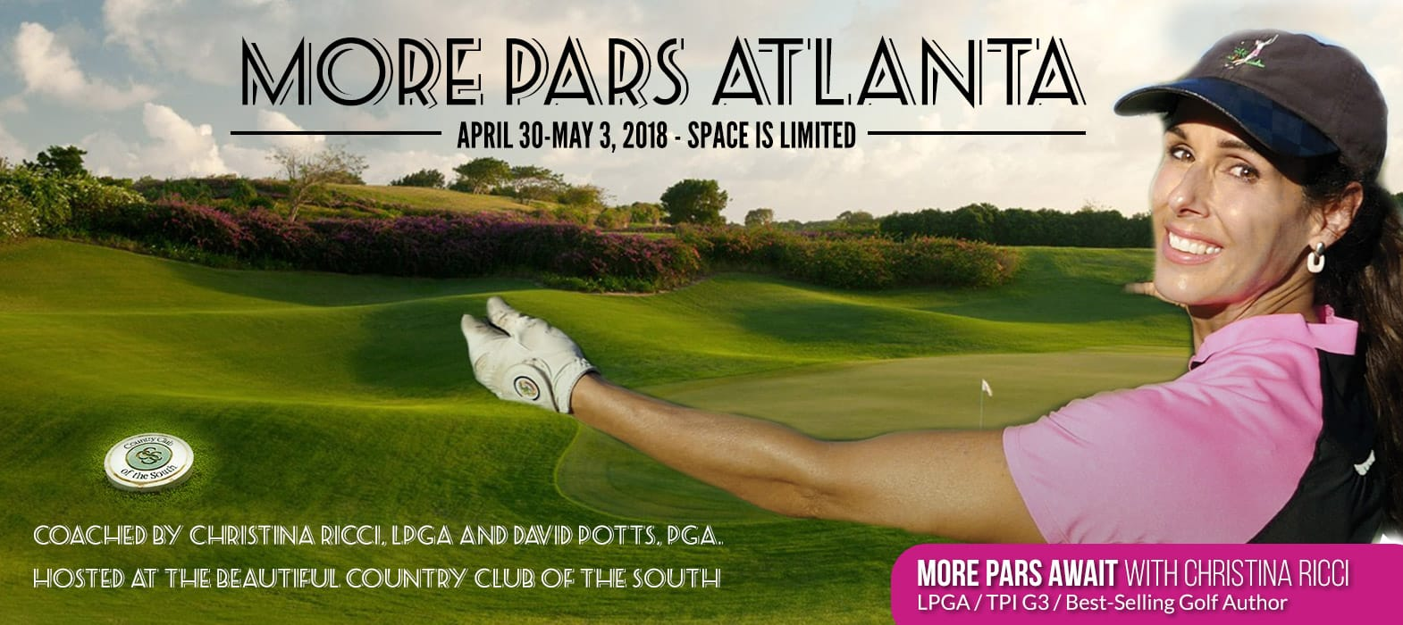 MORE PARS ATLANTA GOLF SCHOOL MARCH 4-8, 2018
